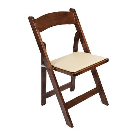 Walnut Wood Folding Chair